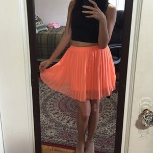 Urban Outfitters plated skirt